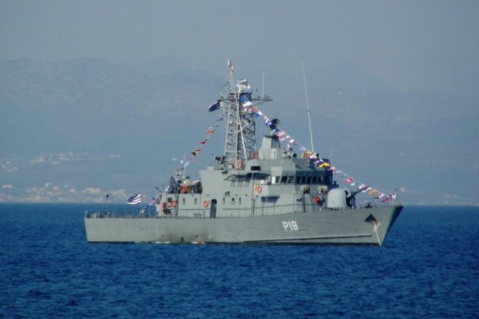 Kapal Perang Yunani Tabrakan dengan Kapal Kargo Turki