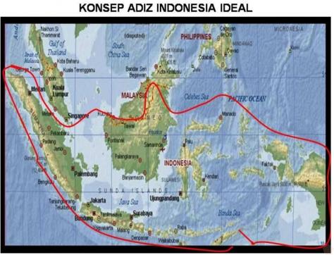 Konsep ADIZ ideal Indonesia (TNI)