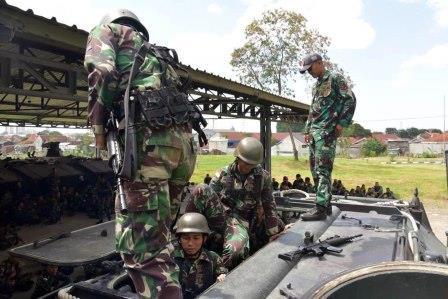 Korps Marinir yang Tergabung dalam Satuan Latihan Bersama Rimpac 2018 Melaksanakan Latihan Parsial