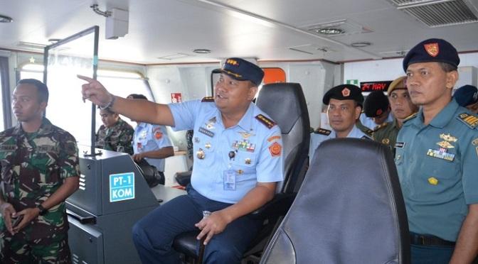 Kunjungan Pasis Suspa Pernika Hanud XII Ke Armada II