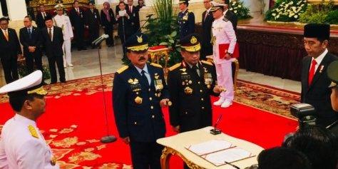 Laksamana Madya TNI Siwi Sukma Adji Dilantik Menjadi Kasal (Merdeka)