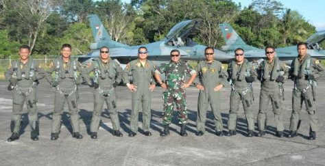 Lanud Pattimura Satuan Pendukung Satgasud Latihan PPRC 2018 (Teras Maluku)