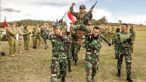 Letda Inf Herlansyah Penembak Terbaik di AASAM 2018 (Istimewa)