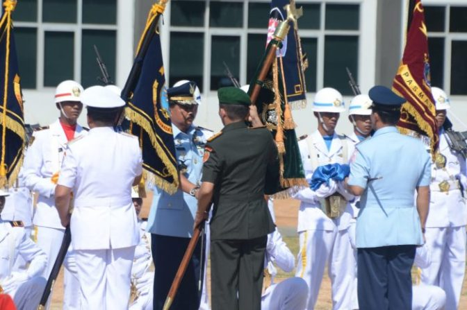Panglima TNI Resmikan Divif 3 Kostrad, Koarmada III, Koopsau III dan Pasmar 3