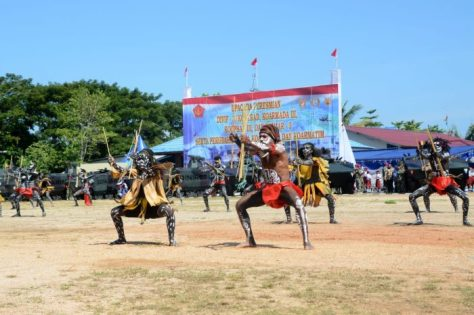 Panglima TNI Resmikan Divif 3 Kostrad, Koarmada III, Koopsau III dan Pasmar 3 (Kostrad) 2