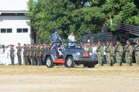 Panglima TNI Resmikan Divif 3 Kostrad, Koarmada III, Koopsau III dan Pasmar 3 (Kostrad)