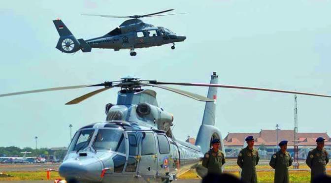 Kecanggihan Helikopter AS565 MBe Panther AKS Milik TNI AL