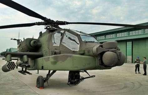 Penerimaan tersebut ditandai dengan penyerahan helikopter secara simbolis. (Antara) 3