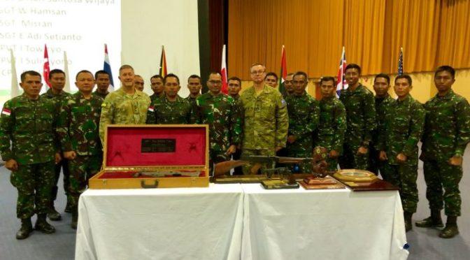 TNI AD Kembali Raih Juara Umum AASAM 2018