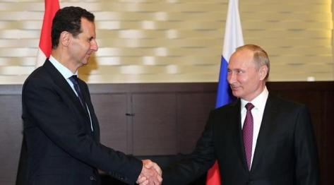 Presiden Assad Lakukan Lawatan Mengejutkan ke Rusia (Liputan6)