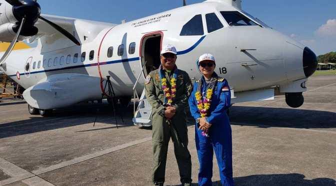 CN-235 220 MPA Perkuat Pertahanan Skadron 5 Lanud Sultan Hasanuddin