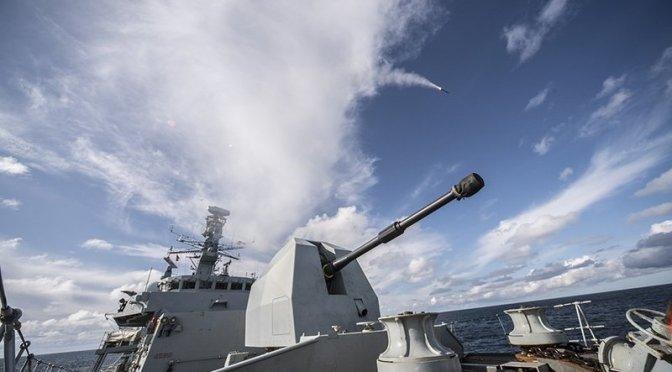 Inggris Operasikan Sistem Rudal Sea Ceptor