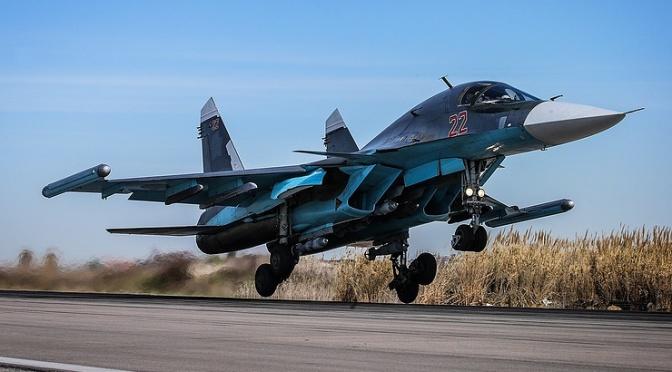 Rusia Bantah Su-34 nya Cegat F-16 Israel di Langit Lebanon