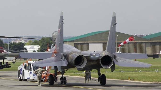 Kadismatau Tinjau GPL Jelang Kedatangan Su-35