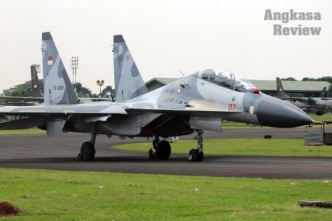 Sukhoi-30MK2 di HUT ke 72 TNI AU (AR)