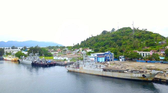 Tiga Kapal Perang Indonesia Dikerahkan ke Sabang