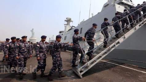 TNI AL Kerahkan KRI RE. Martadinata-331 dan KRI Makasar-590 di Rimpac 2018 2
