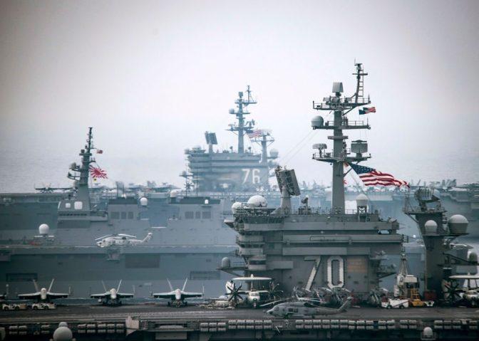 Amerika Bentuk Kembali Armada Kedua