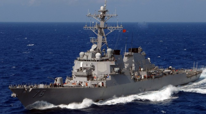 Militer China Kirim Kapal Perang Tantang Amerika Serikat