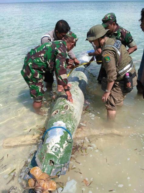Warga Sumenep Temukan Benda Mencurigakan di Pantai (Istimewa)