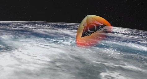 Avangard hypersonic missile (Sputnik)