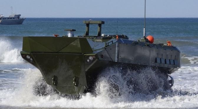 ACV 1.1 Besutan BAE Systems Siap Gantikan AAV7A1 Marinir AS