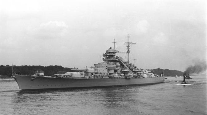Bismarck, Kapal Perang Terbesar Nazi Jerman yang Baru Takluk Setelah Dikeroyok