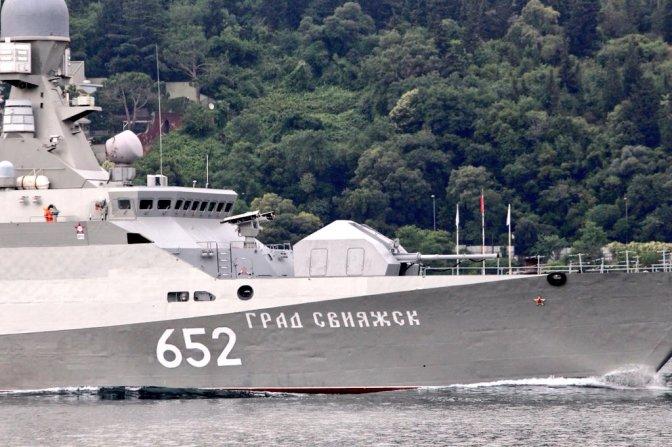 Kapal Perang Rusia Berlayar Menuju Suriah
