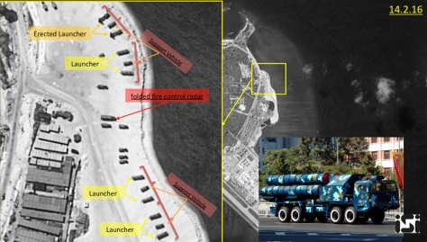 Chinese missiles in woody island (ISI)