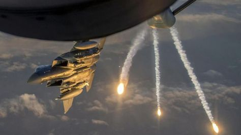 F-15 (U.S. Air Force -Tech. Sgt. Paul Labbe - Handout via REUTERS)
