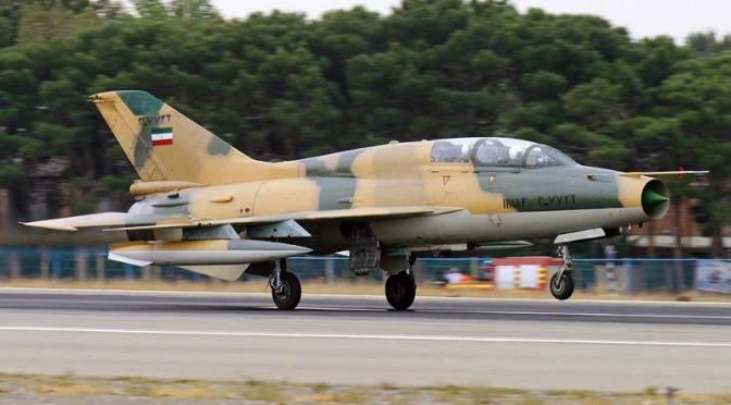 Pesawat Tempur F-7 Iran Jatuh di Isfahan