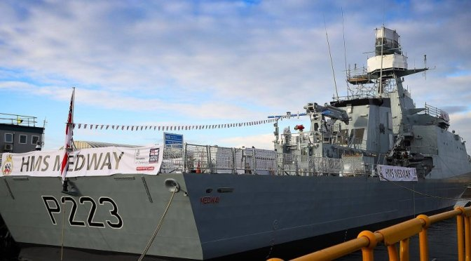 OPV Baru Royal Navy Alami Masalah, BAE Systems Fokus Perbaikan