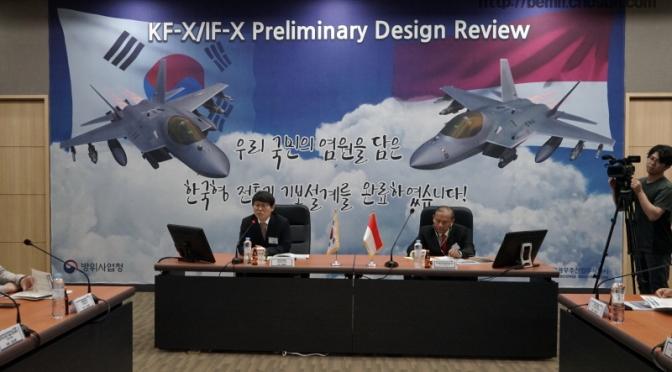 "Pembahasan ""Preliminary Design Review"" Jet Tempur KF-X"