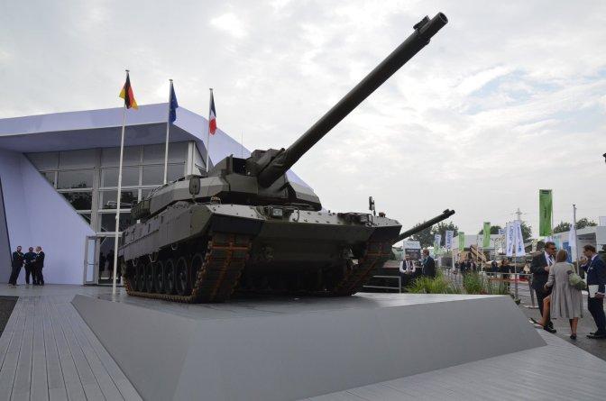 EMBT, Menggabungkan Chassis Leopard 2 dengan Turret Leclerc 120mm
