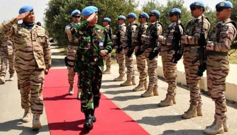 Komandan Kontingen Garuda UNFIL kunjungi Kontingen Malaysia