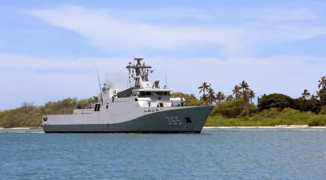 Thales Selesaikan Perbaikan dan Upgrade Kingklip Hull-Mounted Sonar Kapal Perang Indonesia