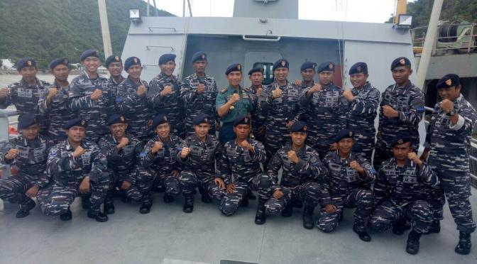 Koarmada II Tetap Waspada Jaga Perairan Indonesia