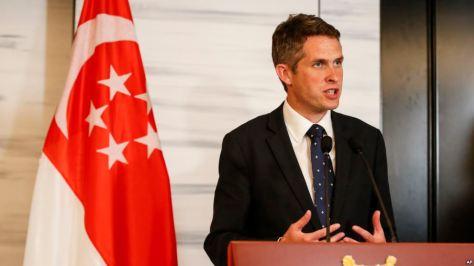 Menteri Pertahanan Inggris Gavin Williamson (AP)
