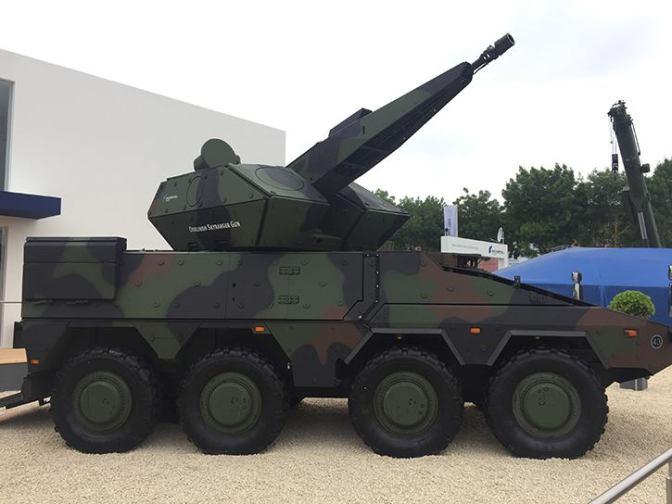 Rheinmetall Perkenalkan Oerlikon Skyranger Gun Terbaru