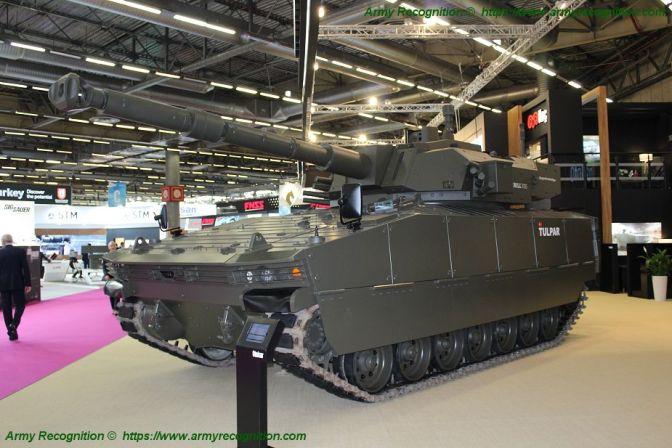 Otokar Turki Perkenalkan Tank Ringan Tulpar dengan Turret 105mm