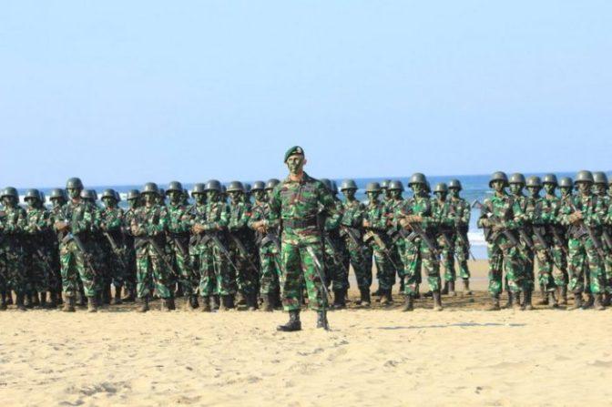 Pangdivif 2 Kostrad Tutup Latihan Pembentukan Raider