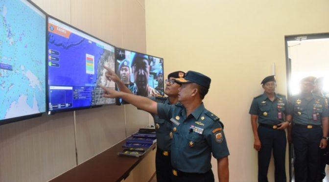 "Pangkoarmada II Tinjau Aplikasi Terbaru ""Grims"" TNI AL"