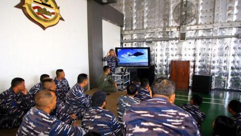 Prajurit TNI-AL yang tergabung dalam Satgas Rim Of The Pacific (Rimpac) 2018 (Antara) 2