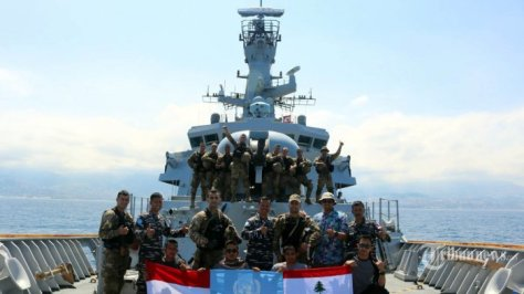 Satgas MTF TNI AL Berikan Latihan Boarding Kepada Tim VBSS LAF Navy 4