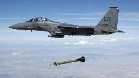 Uji coba misil terbaru diberi kode Rampage, berjara jelajah 150 km, mampu menembus bunker. (Think Israel)