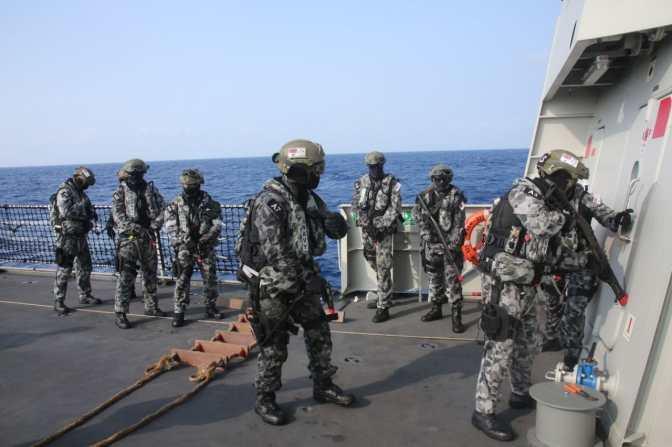 KRI RE Martadinata 331 dan HMAS Melbourne Gelar Latma di Hawaii