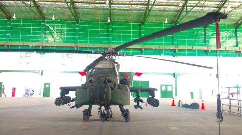 AH-64 Apache TNI AD (Fadel Prayoga - Okezone) 1