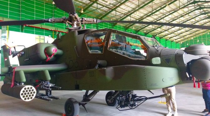 Idealnya Indonesia Perlu Satu Skuadron Helikopter AH-64 Apache