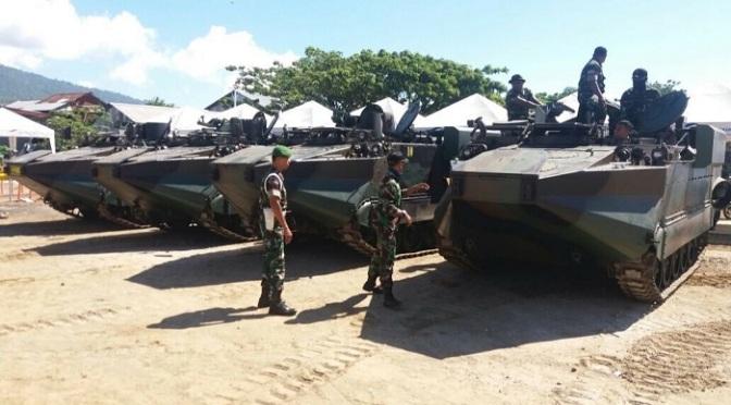Arisgator TNI AD Tiba di Ternate