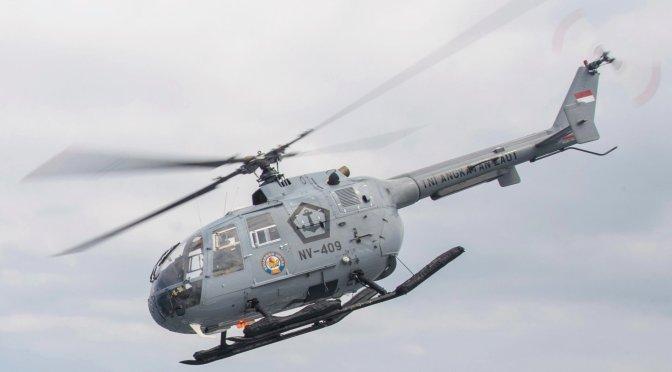 Indonesia Tarik Heli BO-105 dari Satuan Tugas PBB